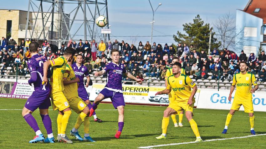 Remiză albă între Mioveni și FC Argeș. Neputința a fost mai mare decât orgoliile