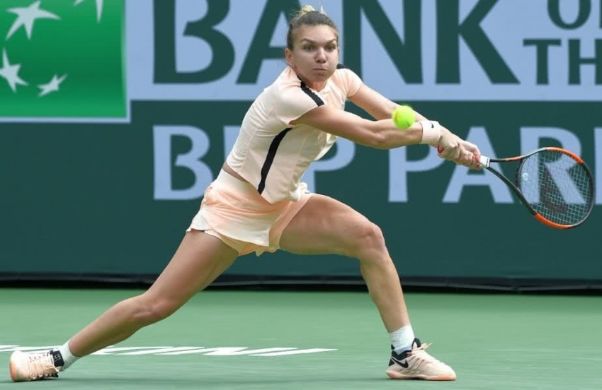 Video! Halep pierde la Indian Wells, dar își consolidează poziția de lider mondial