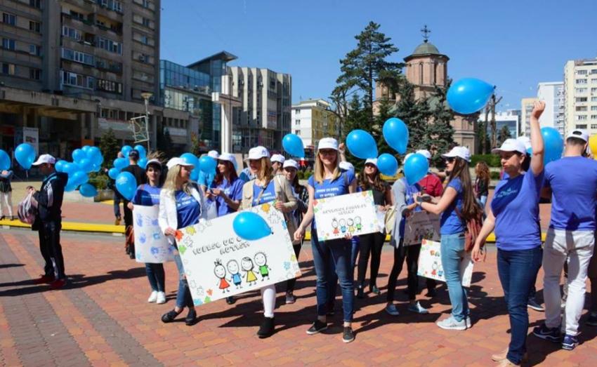 Ziua autismului, marcată și în Pitești