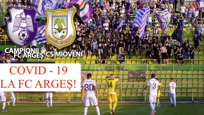 Video! Ce spune prefectul despre cazul de COVID de la FC Argeș care a amânat derby-ul de promovare cu CS Mioveni