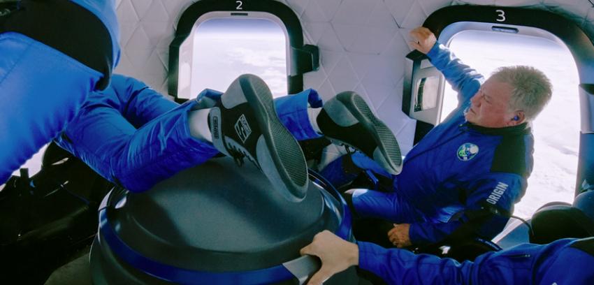 INEDIT! Actorul din Star Trek, William Shatner, in varsta de 90 de ani este cel mai in varsta om care a calatorit in spatiu (Video!)