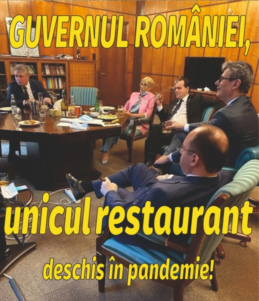 I-au aruncat în penibil! Cum râd românii de Orban și ai lui după ce aceștia au încălcat legile de răspândire a COVID-19