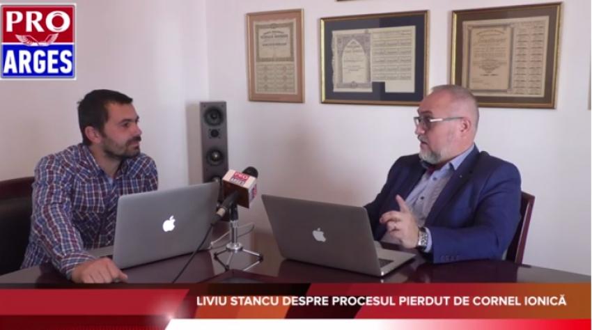Video! Fostul secretar de stat în ministerul Justiției Liviu Stancu: Cornel Ionică nu are cum să își termine mandatul de primar al Piteștiului