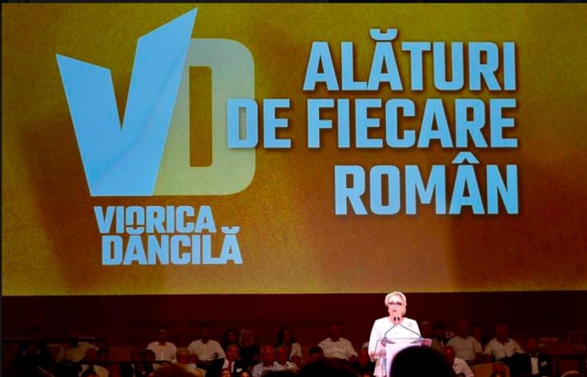 Video! Viorica Dăncilă, candidatul PSD la președinție: Voi fi prima femeie președinte din România. Sunt mai puternică decât toți acești bărbați care vorbesc de pe margine