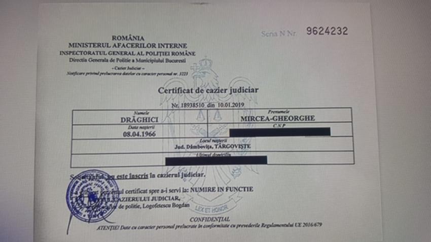 Iohannis, rămas și fără ultimul motiv, obligat să îi pună pe Vasilescu și Mircea Drăghici miniștri: Au apărut certificatele de cazier judiciar