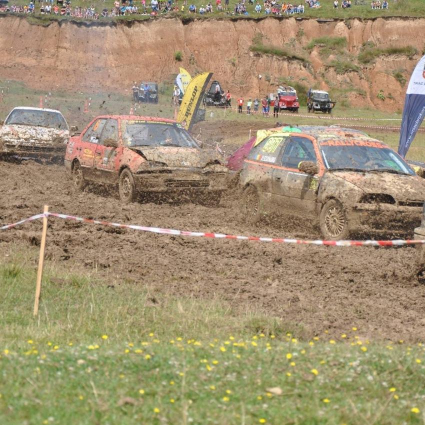 Arena Gladiatorilor, pregătită pentru Cupa Câmpulung Muscel la Rally Cross