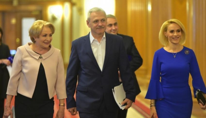 Video! CEx PSD: Cum arată noul guvern. Firea a rămas doar Primar în București, Toader ministru