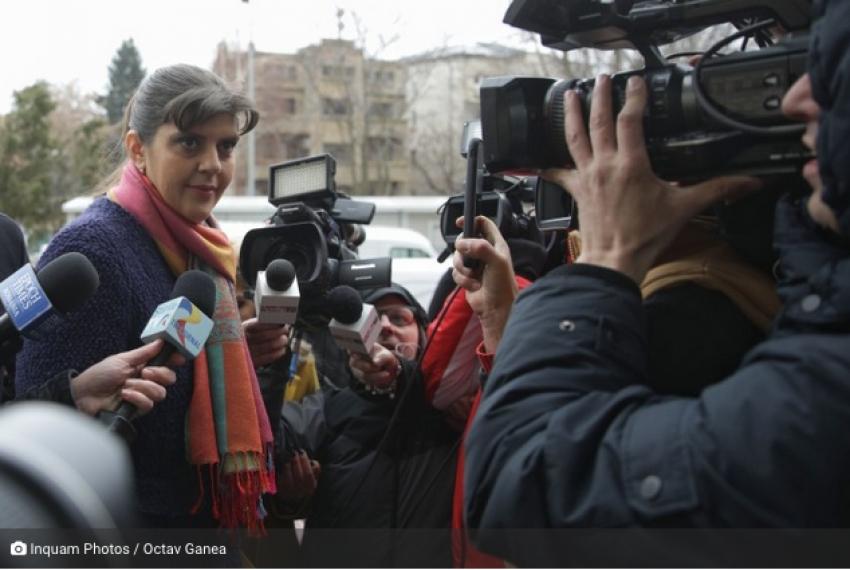 Fosta șefă DNA, Laura Codruța Kovesi, este urmărită penal după denunțul lui Sebastian Ghiță