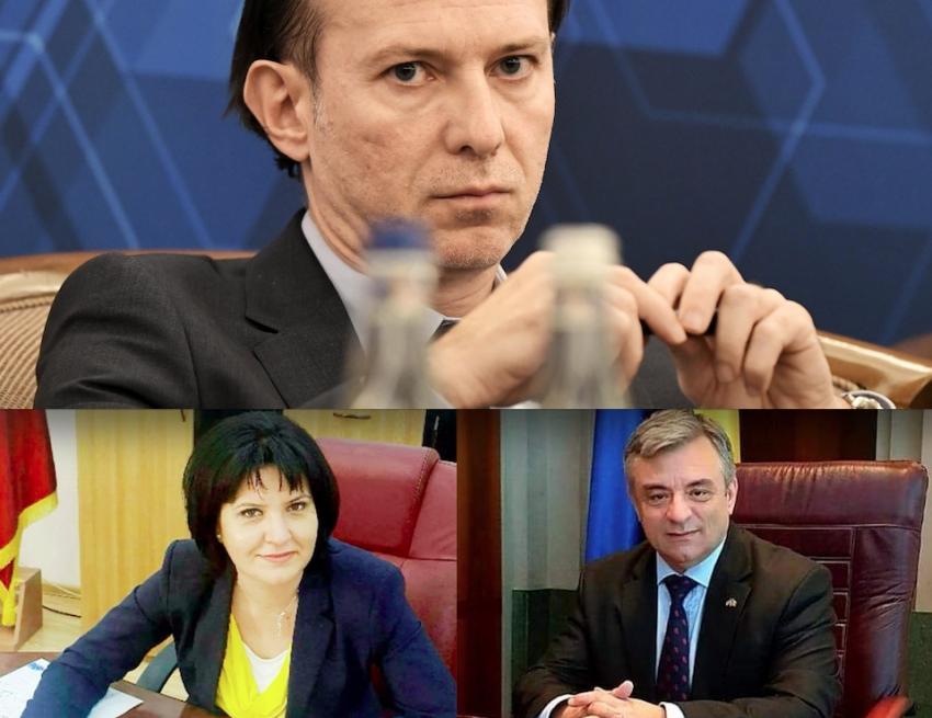 Argeșul, tot mai slab la Guvern: Numiți de Orban, Miuțescu și Simona Brătulescu, dați afară de Câțu