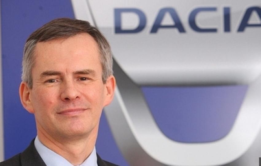 Jerome Olive revine la conducerea Dacia Renault