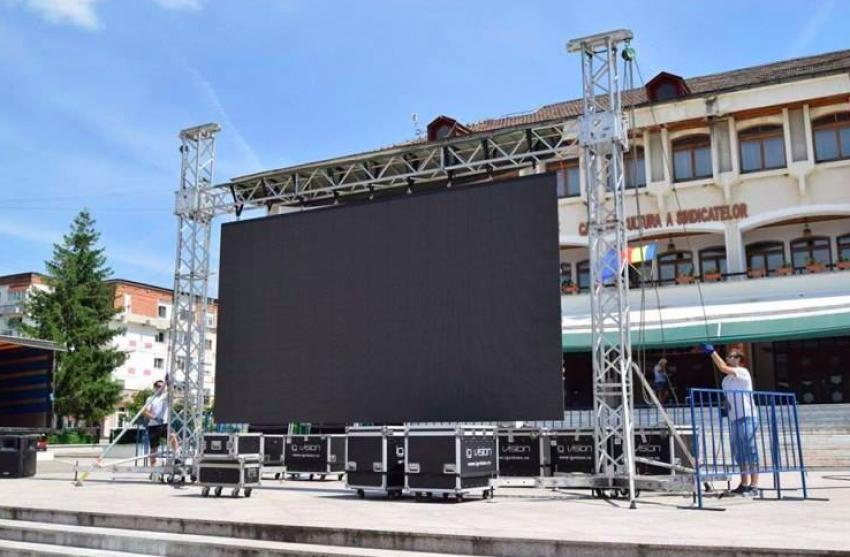 Cele mai importante meciuri de la Campionatul Mondial, în direct în centrul Mioveniului pe un ecran gigant