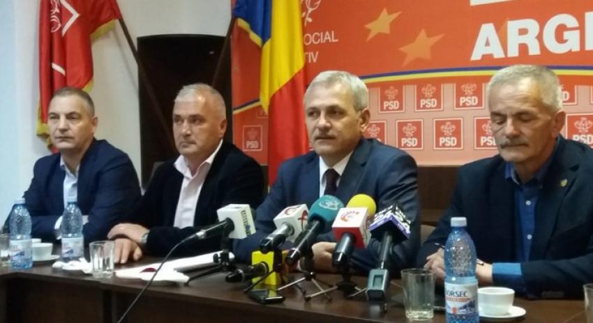 Video! PSD Argeș, vot de încredere pentru Dragnea. Demisionează sau nu șeful PSD după condamnarea primită