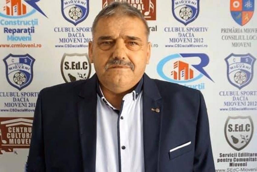 Conducerea CS Mioveni 2012, mesaj de îndurere după decesul lui Adrian Ștefan: A fost artizanul unui lung șir de victorii. A pierdut însă lupta cu boala