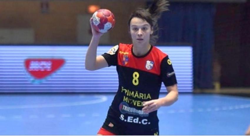 CS Mioveni are cea mai valoroasă marcatoare din campionatul național de handbal