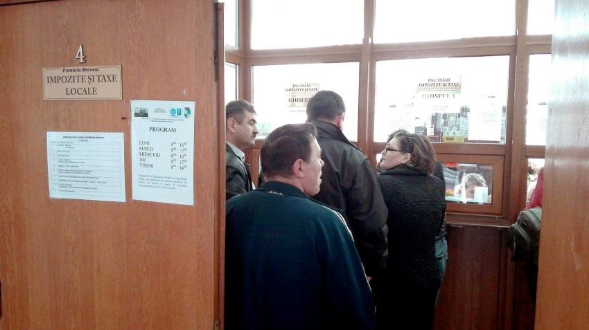 Primăria Mioveni, scutiri de penalități pentru datornicii la taxe și impozite locale