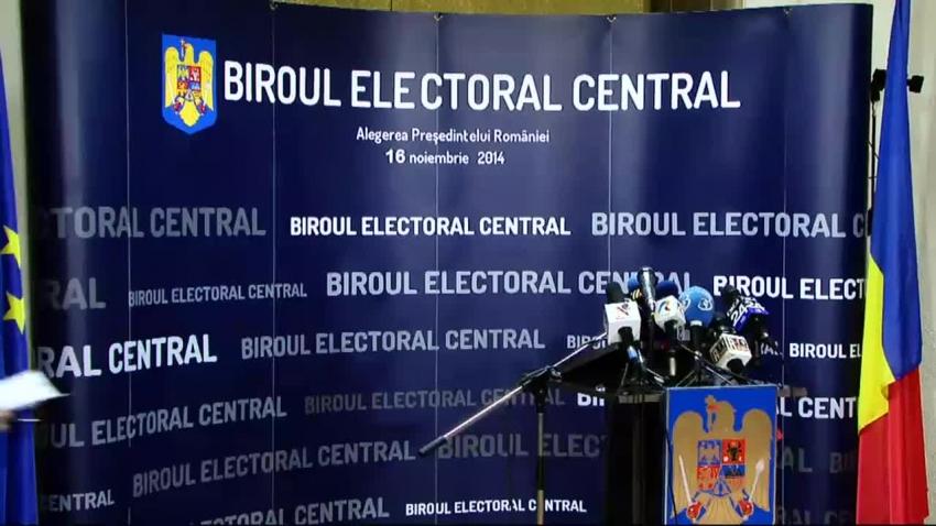 Turul I. Alegeri prezidențiale 2019. Rezultate oficiale BEC