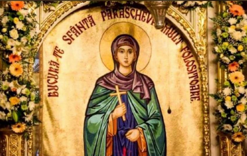 Andrei Gerea, mesaj de Sfânta Parascheva
