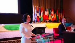 Simona Bucura Oprescu a condus delegația României la Adunarea Parlamentară a Francofoniei