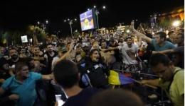 Video! București. Protestul Diasporei. Ciocniri violente între protestatari și jandarmi