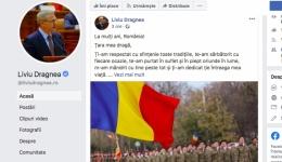 Liviu Dragnea, primul mesaj pe Facebook după condamnare sa. Dragă România...