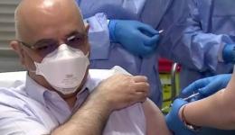 Video! Arafat s-a vaccinat împotriva COVID