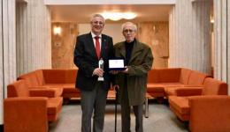 Directorul ADR Sud Muntenia, Cetățean de Onoare. Liviu Mușat și tatăl său, singura pereche fiu-tată cu acest titlu onorific din Călărași