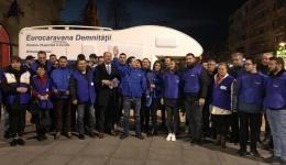 EuroCaravana Demnității TLDE, la Pitești și Mioveni pentru candidații la europarlamentare