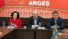 Video! Ion Mânzână, președinte PSD Argeș: Era o bătaie de joc încercarea de aranjare a concursului de funcționar public pentru prorectorul Soare!