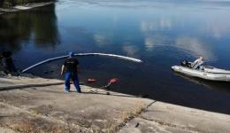 Barajul Vâlcele a fost curățat