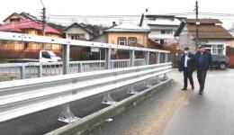 Podul de la Valea Mare - Ștefănești este realizat în procent de 98%