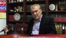 Video! Primarul din Mioveni, Ion Georgescu, la Interviurile Proarges.ro. Despre investițiile din cel mai bogat oraș din Argeș și scandalurile din PSD