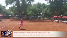 Video! Turneul de tenis de la Vâlcea a fost dominat de piteșteni