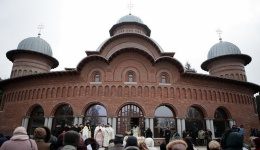 Video! Peste 5000 de credincioși la sfințirea Catedralei Arhiepiscopale din Curtea de Argeș, noua casă pentru Sfânta Filofteia