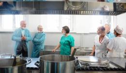 Video! Bucătărie la standarde europene pentru Spitalul de Pediatrie Argeș