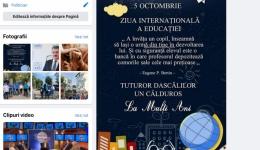Andrei Gerea, mesaj special de Ziua Educației