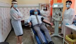 Comandantul Jandarmeriei Argeș a donat plasmă. El s-a vindecat de COVID-19