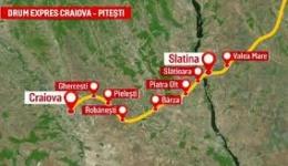 Tronsonul 4 din drumul expres Pitești-Craiova scos la licitație. Va traversa mai multe comune din Argeș