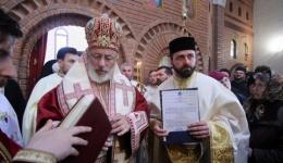 Video! Caliopie Ichim, ridicat la rang de arhimandrit și stareț al Mănăstirii Argeșului
